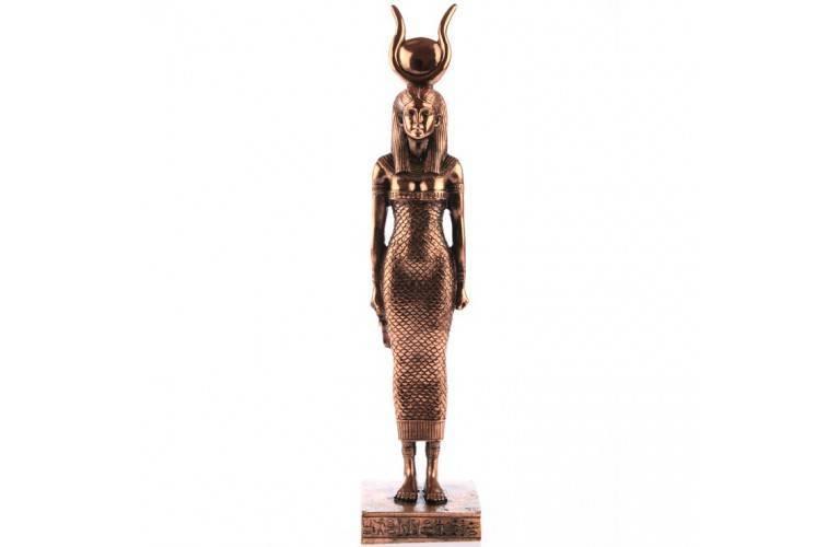 STATUETTE EGYPTIENNE DEESSE HATHOR