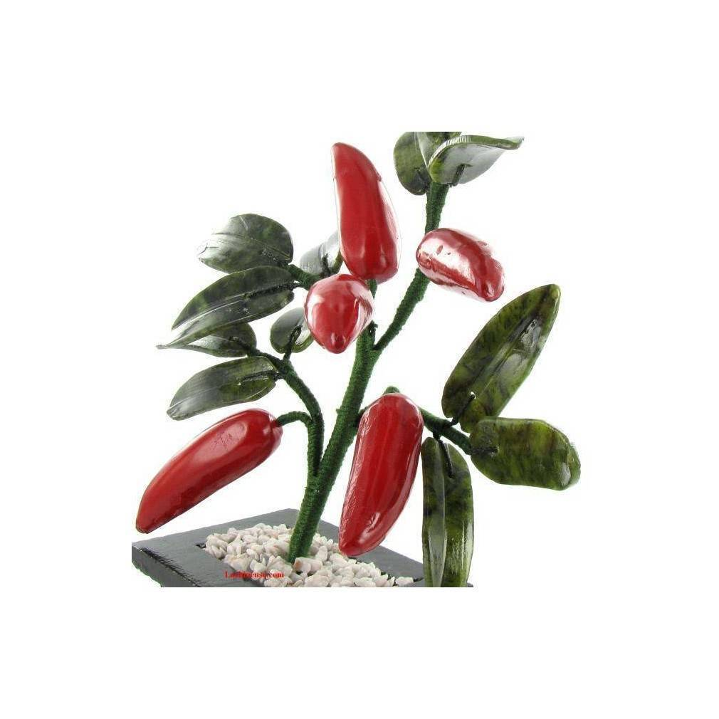 Bien connu Arbre feng shui du traditionnel piment rouge, symbole du bonheur TN31
