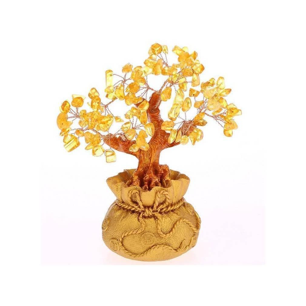 arbre feng shui en citrine symbole de richesse et de prosp rit. Black Bedroom Furniture Sets. Home Design Ideas