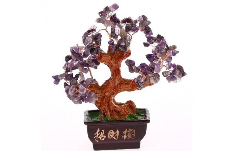 ARBRE TRADITIONNEL en AMETHYSTE