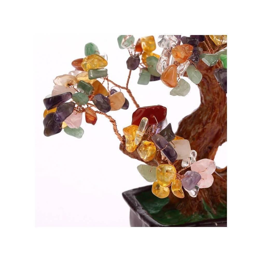 arbre de fortune 5 el ments feng shui equilibre et bonheur ebay. Black Bedroom Furniture Sets. Home Design Ideas