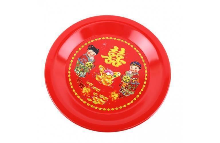 PLATEAU de SERVICE CHINOIS - Motif Enfants du Bonheur