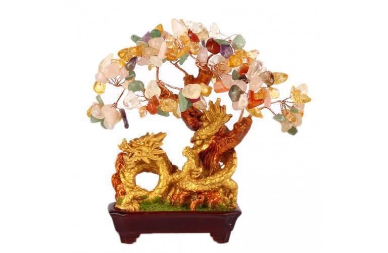 un bel objet de d coration feng shui l 39 arbre dragon 5 l ments. Black Bedroom Furniture Sets. Home Design Ideas