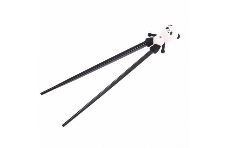 BAGUETTES D'APPRENTISSAGE - Panda Noir et Blanc