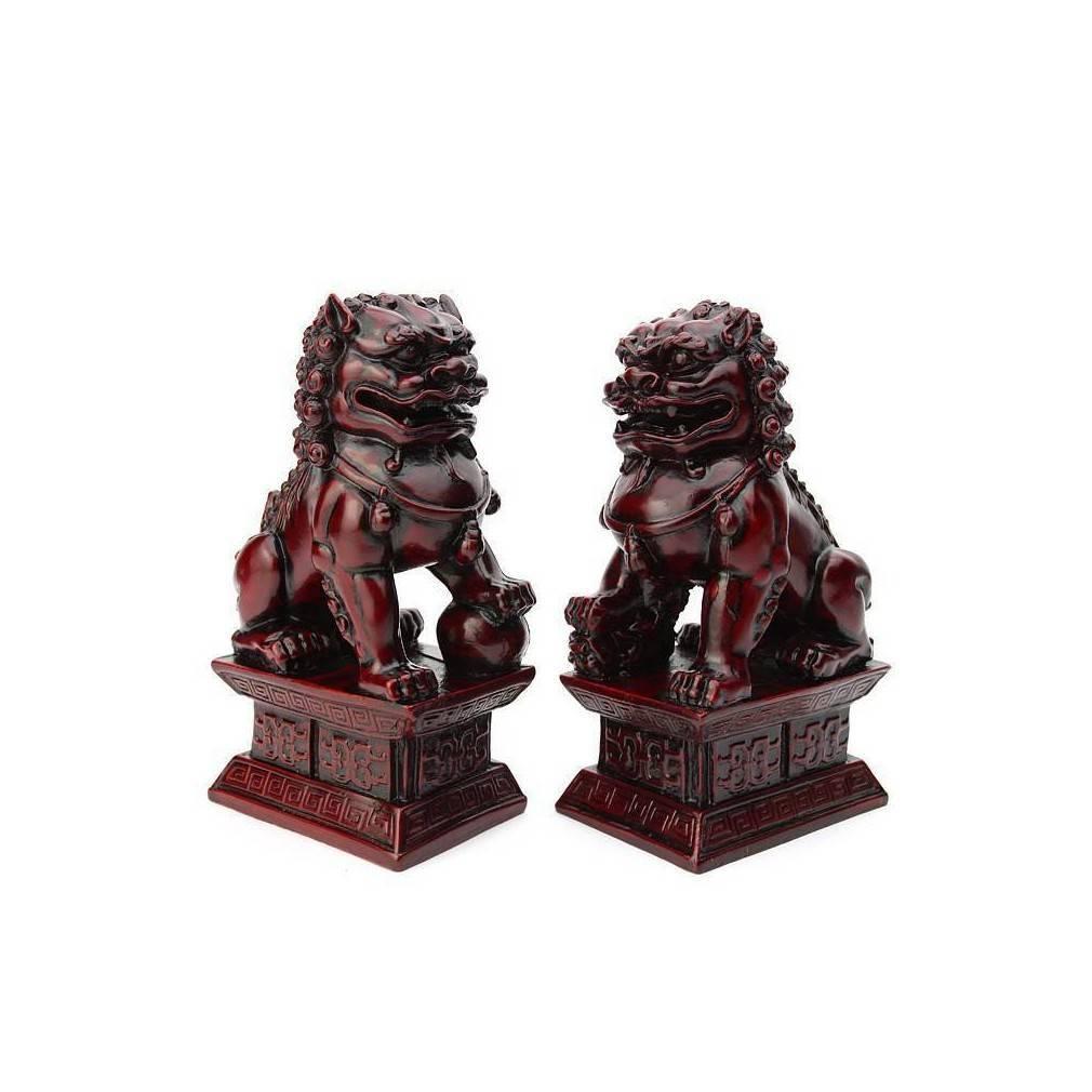 lions fo chinois un symbole de protection feng shui traditionnel. Black Bedroom Furniture Sets. Home Design Ideas