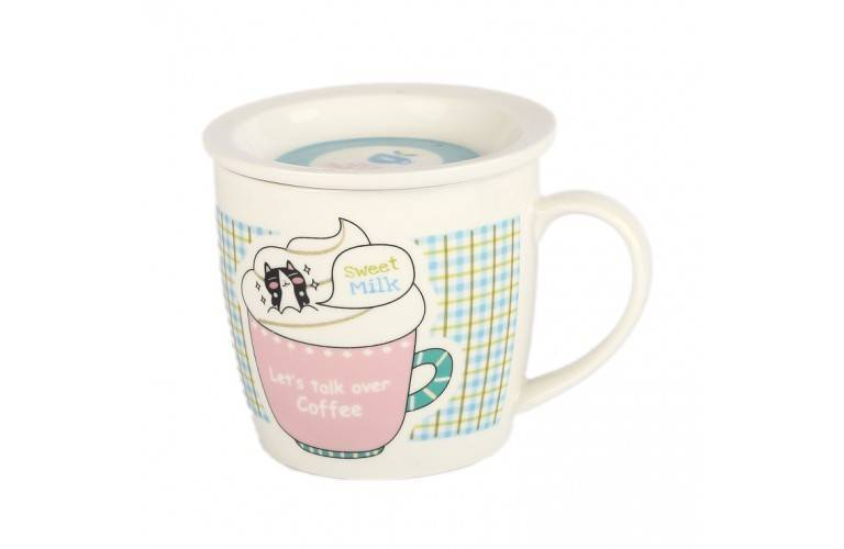 "Tasse Collection ""Let's talk over coffee"""