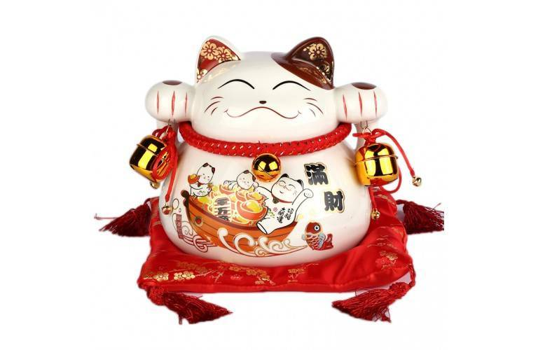 MANEKI NEKO JAPONAIS TRADITIONNEL
