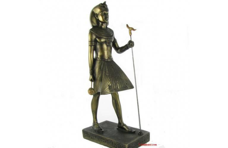 STATUETTE GRAND CHAMBELLAN EGYPTIEN
