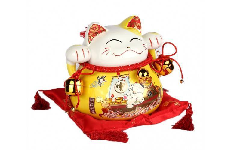 GRAND CHAT MANEKI NEKO JAUNE