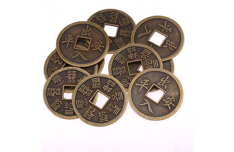 10 PIECES CHINOISES FORTUNE