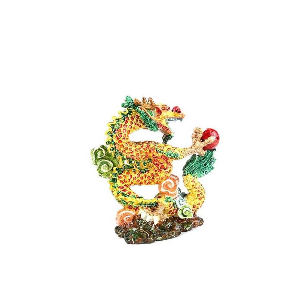 statuette dragon protecteur feng shui symbole de chance et r ussite. Black Bedroom Furniture Sets. Home Design Ideas