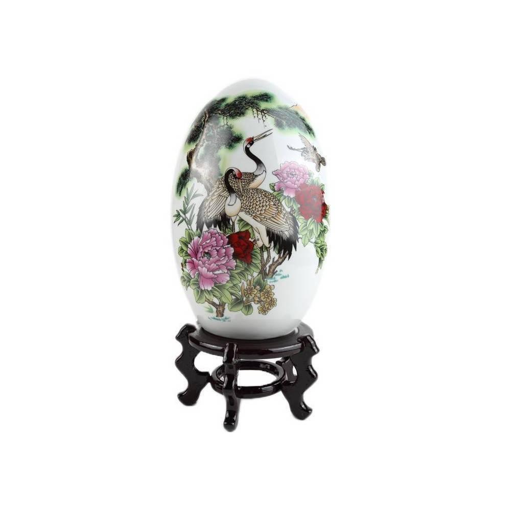 grand oeuf de decoration asiatique. Black Bedroom Furniture Sets. Home Design Ideas