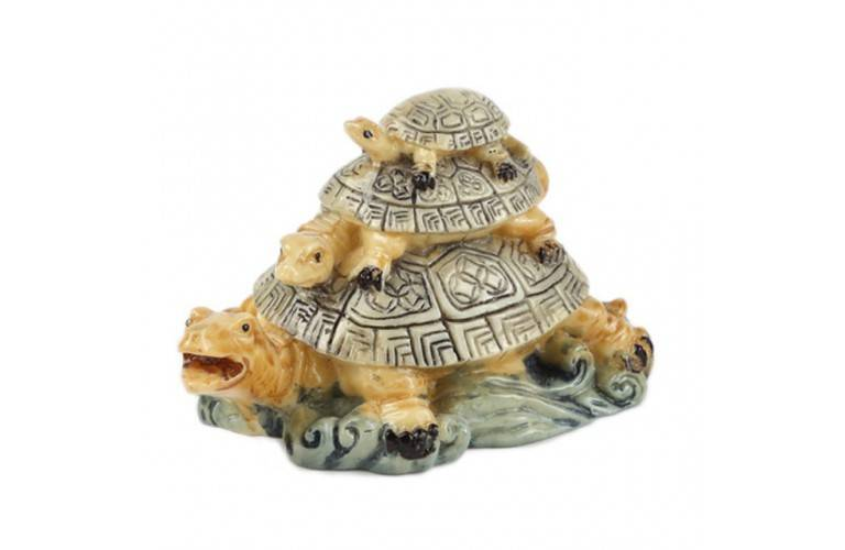 TRIO TORTUES FENG SHUI