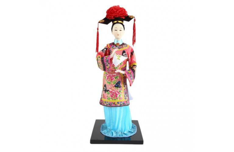 POUPEE ASIATIQUE TRADITIONNELLE