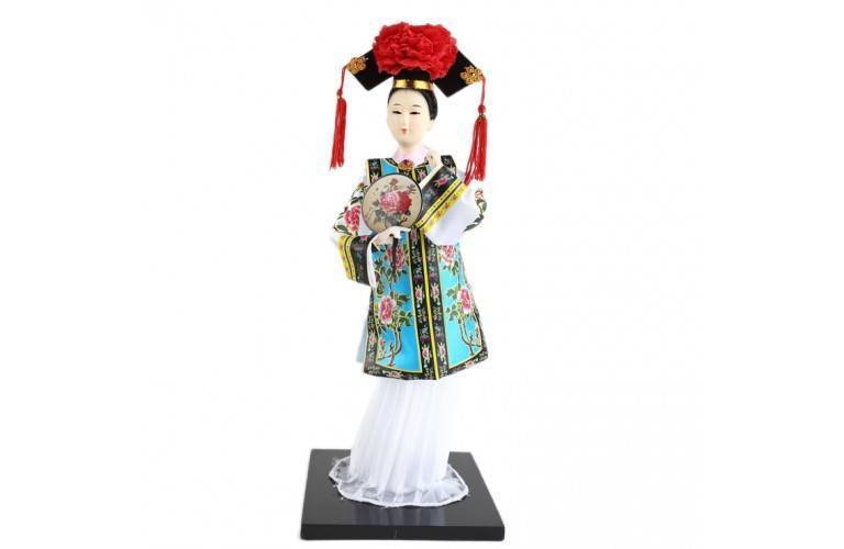 POUPEE CHINOISE TRADITIONNELLE
