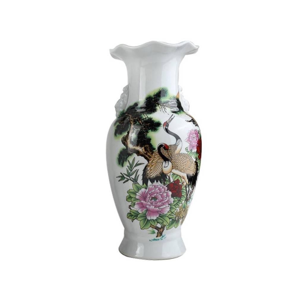 vase de decoration asiatique. Black Bedroom Furniture Sets. Home Design Ideas