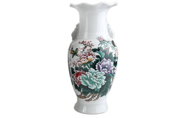 VASE DE DECORATION ASIATIQUE