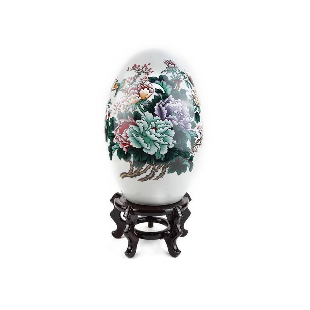 Grand oeuf de decoration asiatique for Decoration asiatique