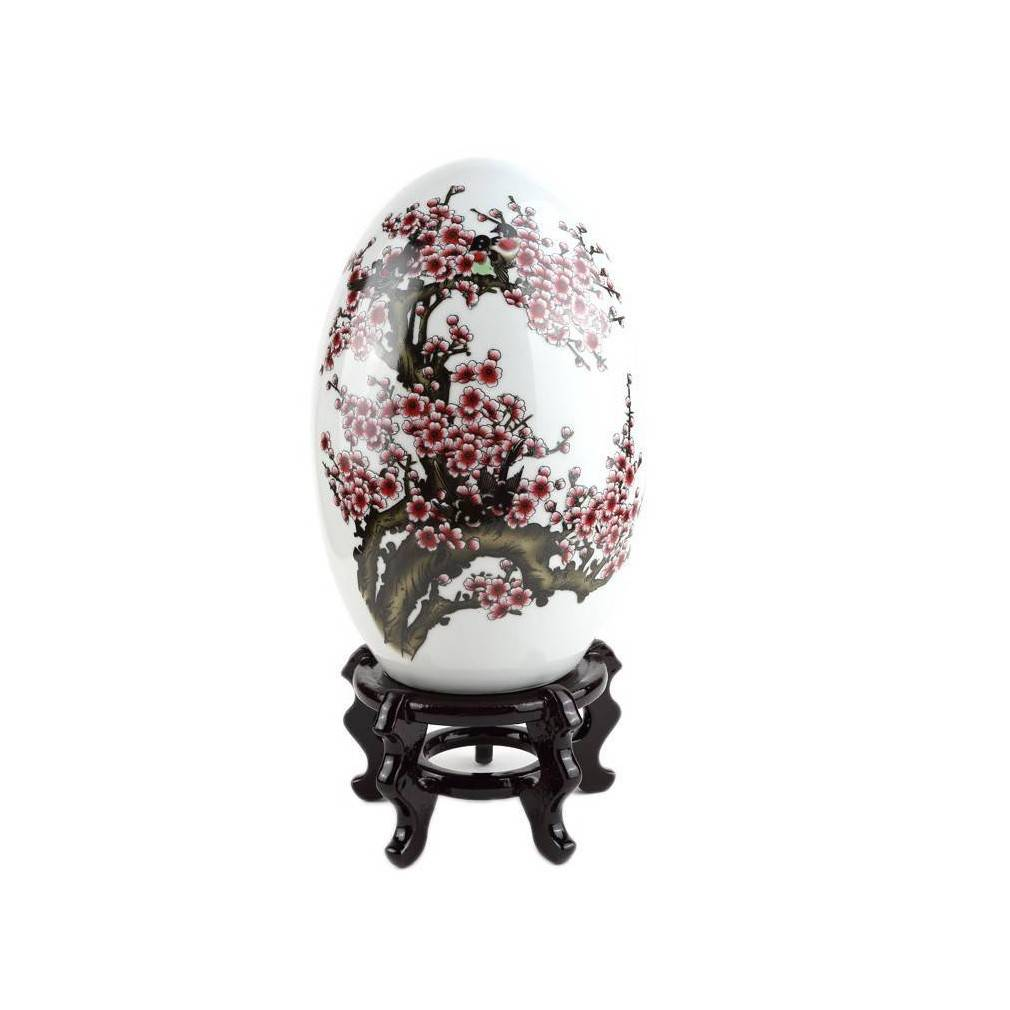 Grand oeuf de decoration asiatique for Oeuf de decoration