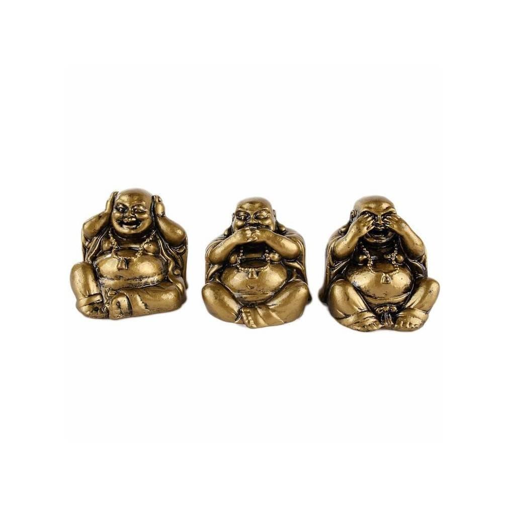Bouddha Rieur Signification Position les 3 bouddhas de la sagesse