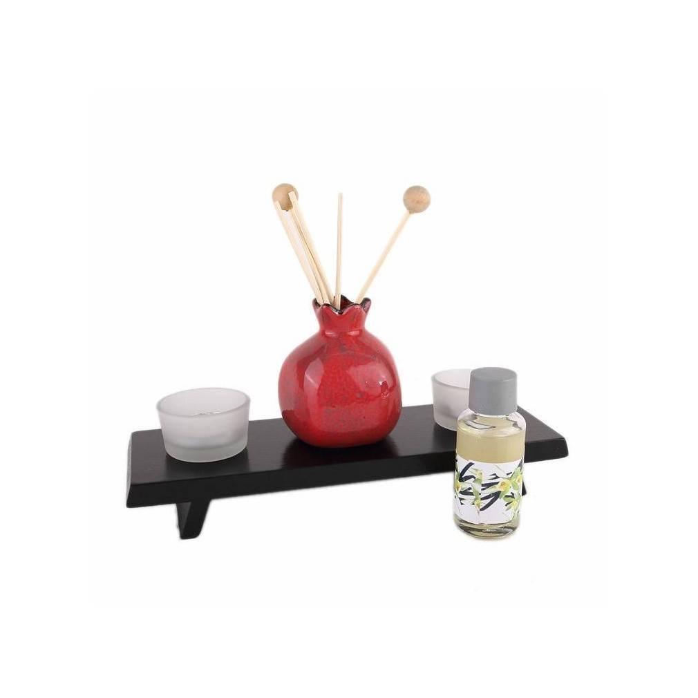 ensemble zen senteurs et bougies. Black Bedroom Furniture Sets. Home Design Ideas