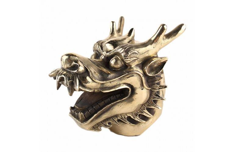 GRANDE TETE de DRAGON ANTIQUE