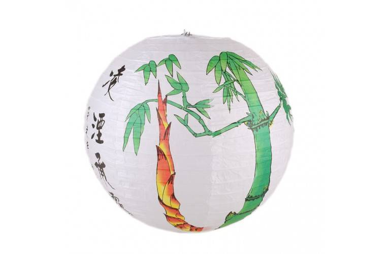 GRAND LAMPION BOULE CHINOIS