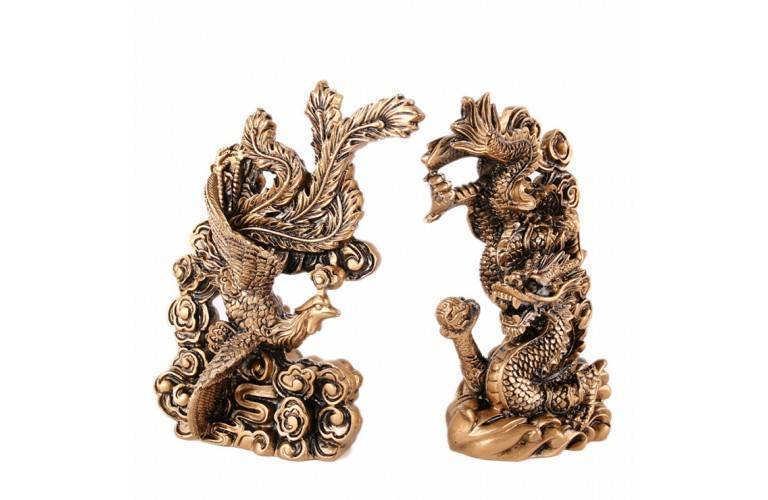 COUPLE DRAGON-PHENIX FENG SHUI