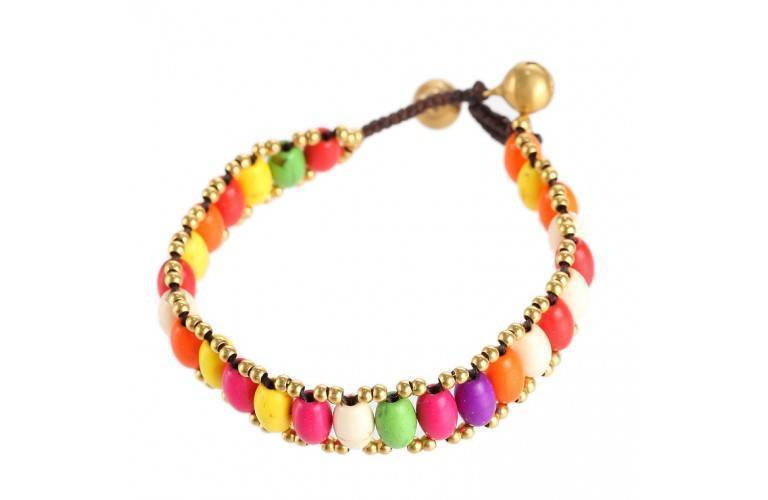 BRACELET TIBETAIN - FANTAISIE MULTICOLORE