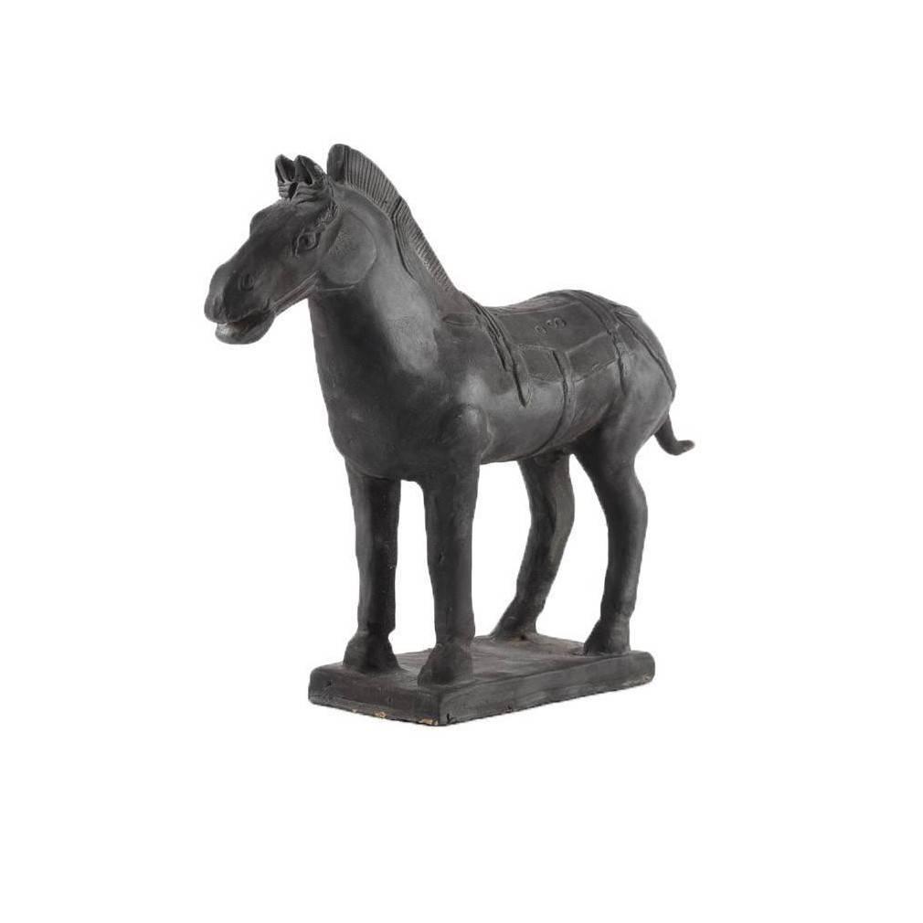 cheval en terre cuite r plique des chevaux chinois de l 39 arm e de xian. Black Bedroom Furniture Sets. Home Design Ideas