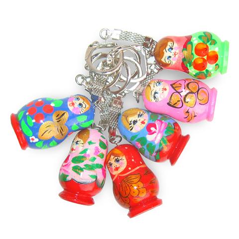 Porte clefs poupée russe